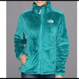 The North Face Furry Osito Jacket Teal XS